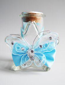 Sticluta pentru ulei mir cu accesorii bleu