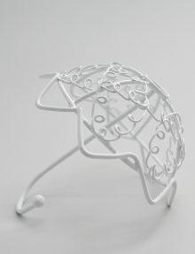 Marturie nunta umbreluta alba din metal
