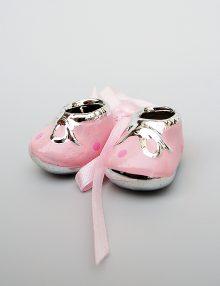 Marturie botez botosei ceramica roz