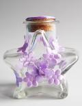 Sticluta pentru ulei mir cu accesorii lila