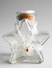 Sticluta pentru ulei mir cu accesorii albe