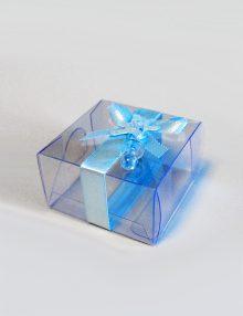 Marturie botez cutiuta cu suzeta bleu