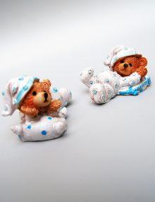 Marturie botez ursulet bleu din ceramica