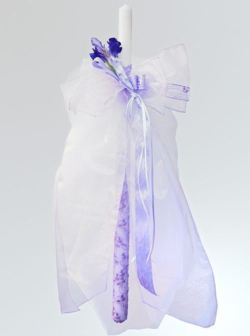 Lumanare de botez Iris
