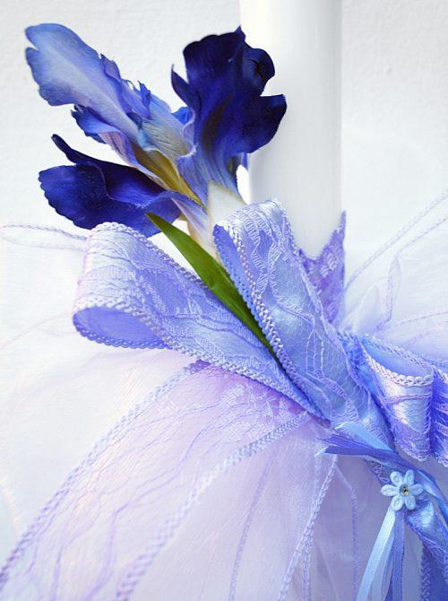 Lumanare de botez Iris 1