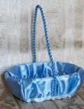 Cosulet cruciulite cu decor bleu