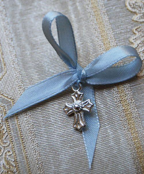 Cruciulite botez cu margini stilizate 1