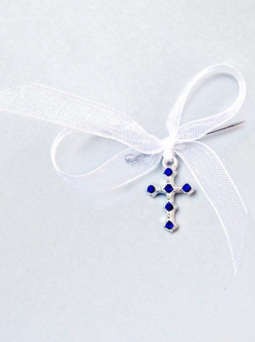 Cruciulite botez cu pietricele albastre