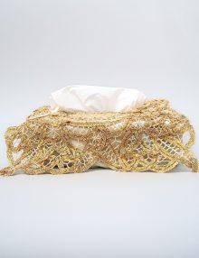 Decor auriu pentru cutie servetele