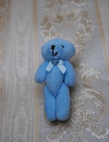 Ursulet bleu pentru decor