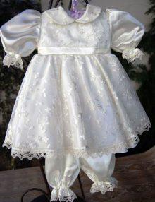 Rochita crem botez fetita
