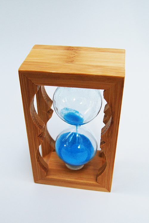 Marturie botez clepsidra cu nisip bleu 2