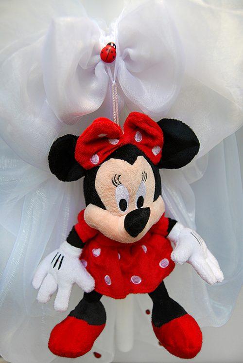 Lumanare de botez cu decor jucarie Minnie 1