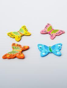 Accesoriu fluture colorat pentru decor
