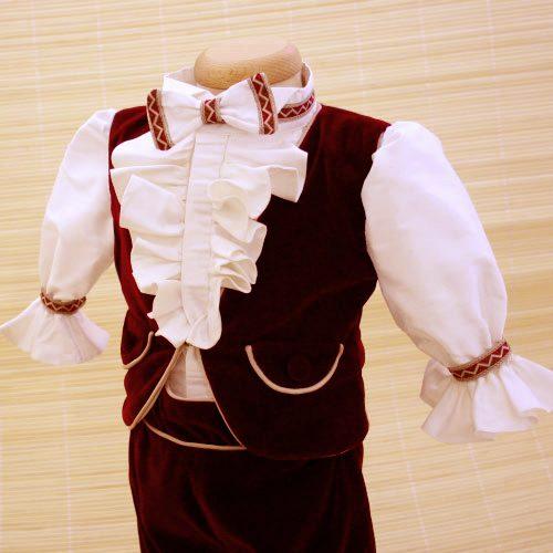 Costumas de botez pentru baieti Hamlet, colectia Petite Coco 1