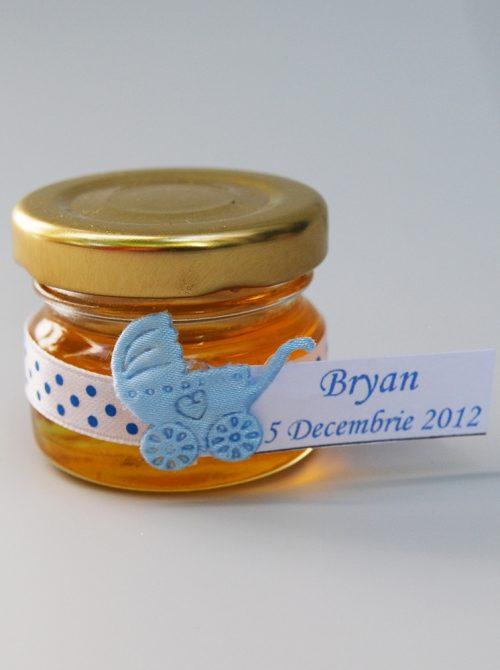 Marturie botez borcanel cu miere si carucior