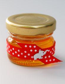 Marturie botez borcanel cu miere cu elefant
