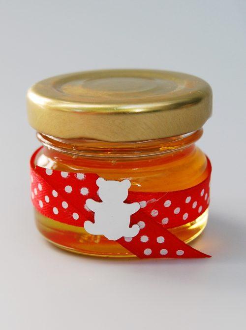 Marturie botez borcanel cu miere cu ursulet