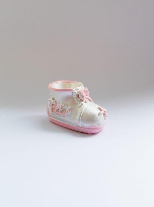 Marturie botez botosel ceramica roz