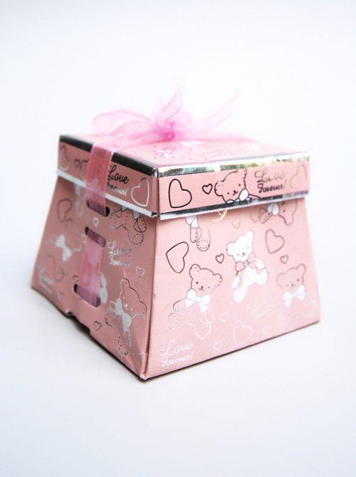 Marturie botez cutiuta roz