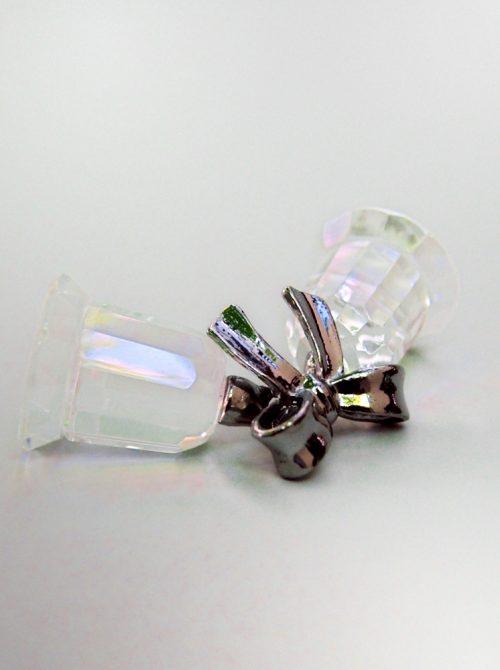Marturie nunta clopotei din sticla cu fundita 3