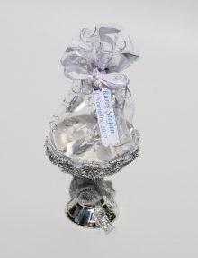 Marturie nunta cupa argintie cu saculet