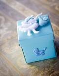 Marturie botez cutie bleu cu barza