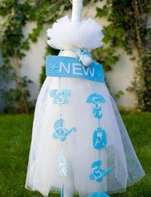 Lumanare botez baieti New Baby Born