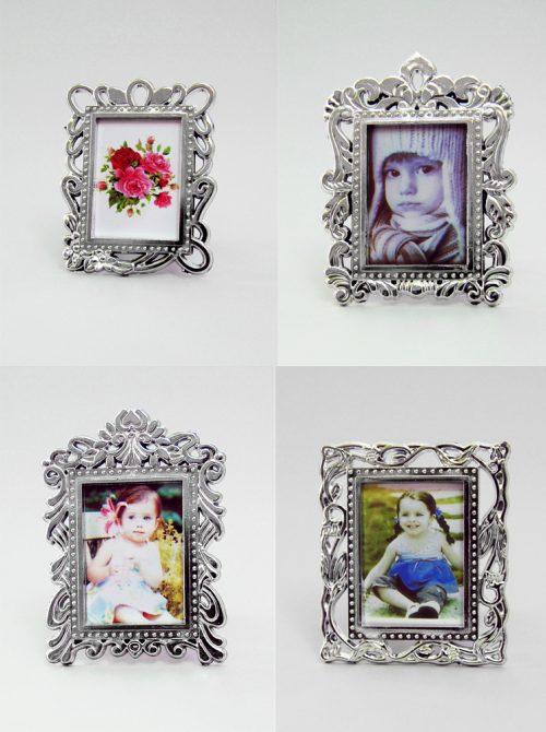 Marturie nunta rama foto argintie cu magnet