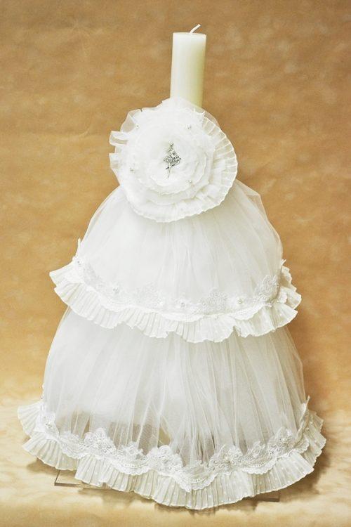 Lumanare de botez - Trusou Ballerina 1
