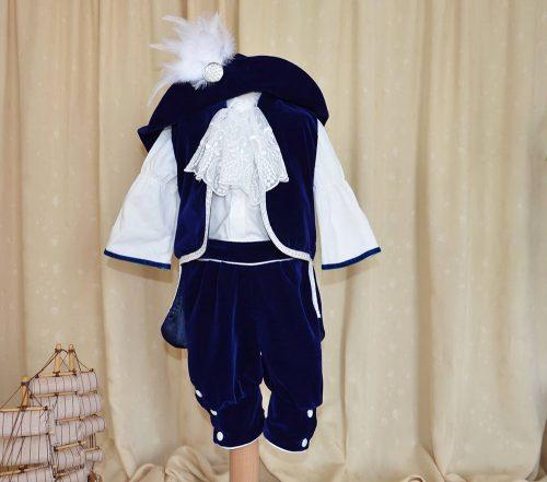 Costumas botez baietel model d'Artagnan 1