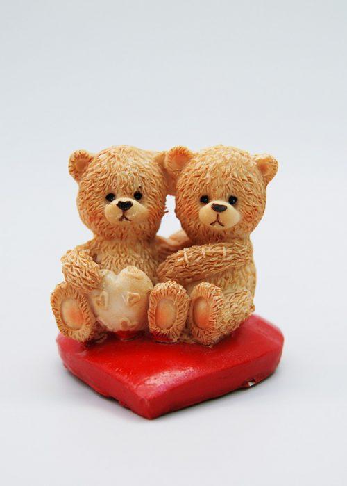 Marturie pentru bebelusi gemeni, doi ursuleti 1