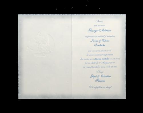 Invitatie botez albastra cu fundita 4