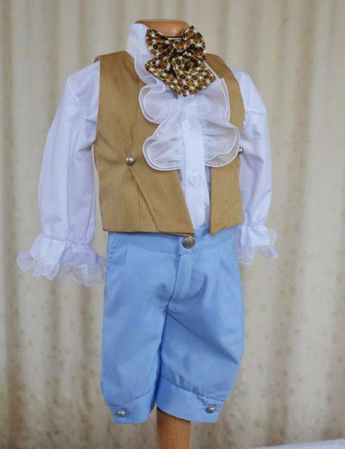 Costumas botez baietel Leopold 1