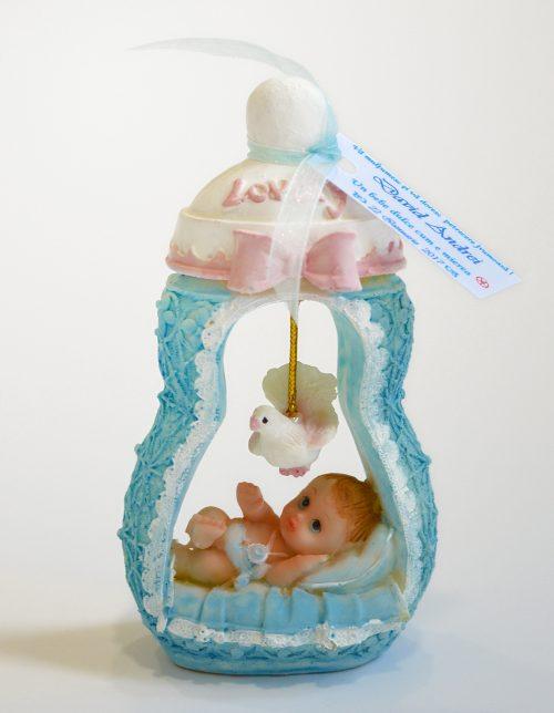 Marturie bebelus in biberon bleu 1