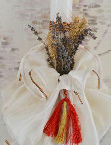 Lumanare-botez-personalizata-traditionala