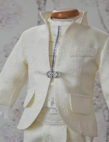 Costum botez baietel Ivoire