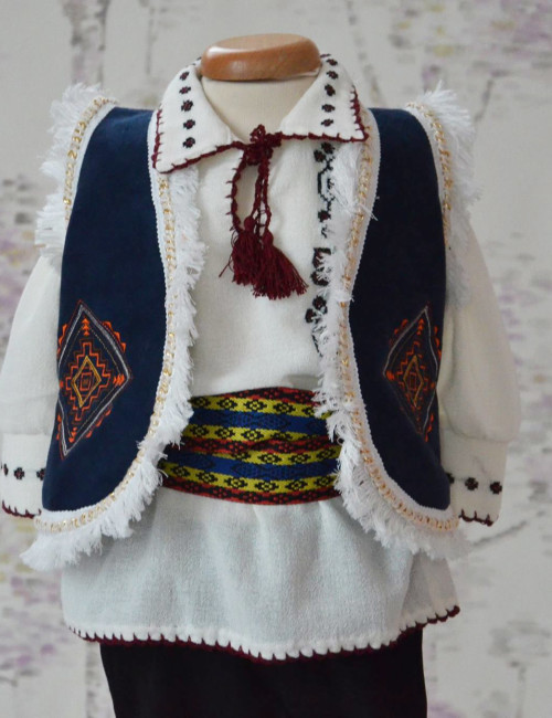 Costum botez baietel Traditional